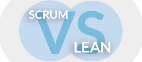 Scrum vs Lean Bureau Tromp
